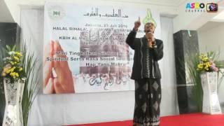 Taushiyah Gus Hamdi di acara Walimatussafar KBIH Al Mahbubiyah Al Manar