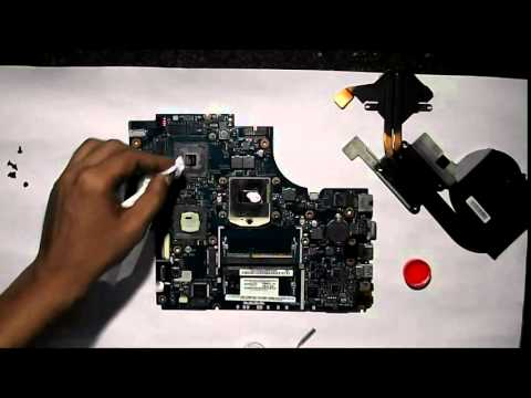 Acer Aspire TimelineX 5830TG Disassemble & Over Heating issue Solution,