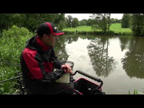In session at Castle Ashby Fishery