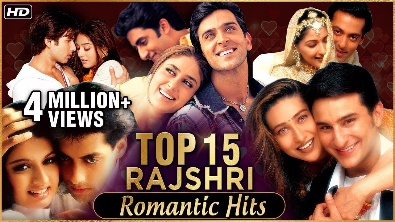 Download Rajshri Romantic Hits | Top 15 Rajshri Love Songs | Evergreen Love Songs | Bollywood Love Songs