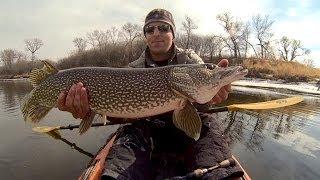Open Water Pike Fishing 3-20-2014