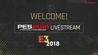 PES 2019 E3 2018 day three livestream [ENG]
