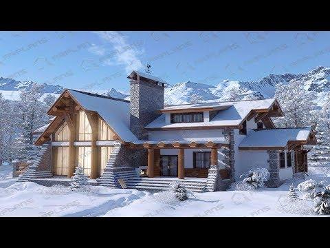 Дома шале под ключ проекты и цены
