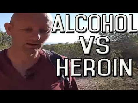 Comparison Between a Heroin User and an Alcohol User