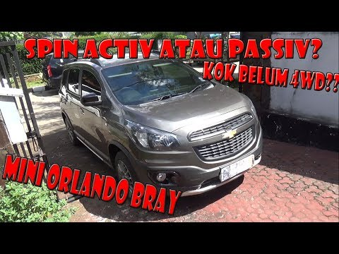 Review Chevrolet Spin Activ Tahun 2014