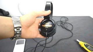 JVC HA-D600 headphones SPL dB test + first look