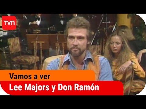 El hombre nuclear (Lee Majors) y Don Ramón en