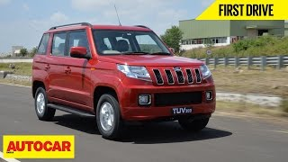 Mahindra Tuv300 | First Drive | Autocar India