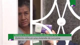 Violento robo en una vivienda de La Loma