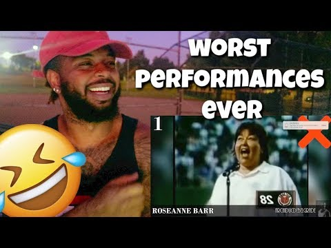 TOP 10 WORST/BEST Star Spangled Banner Performances! | Reaction