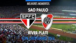 Melhores Momentos - São Paulo 2 x 1 River Plate-ARG - Libertadores - 13/04/2016