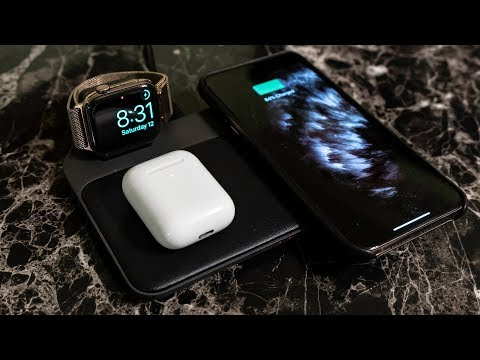 Nomad Base Station - Apple Watch Review and Unboxing: Best Airpower Replacement?