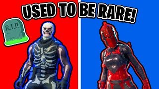 Fortnite Skins That Used To Be RARE (Ranking All Fortnite Skins)