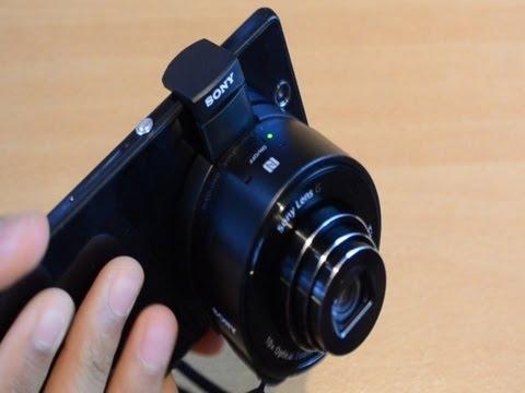 18,2 Mp Kamera Objektiv für ALLE Smartphones - Sony DSC-QX10 Test Deutsch