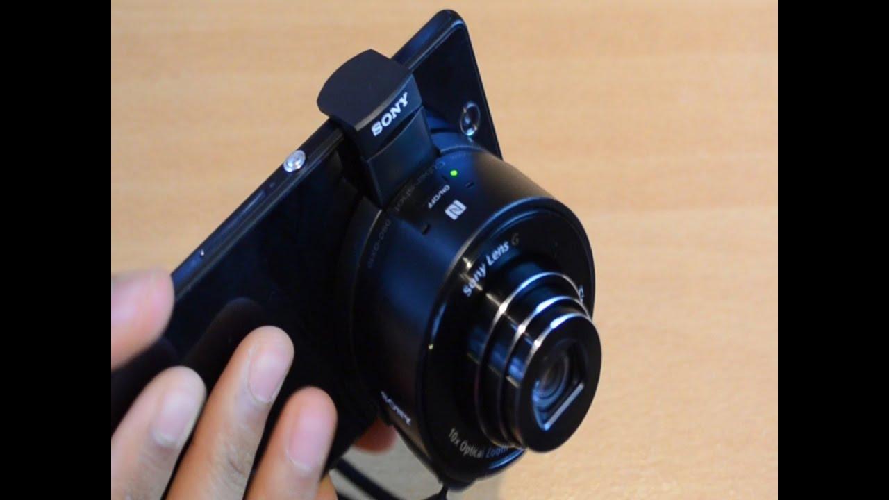 Mp kamera objektiv für alle smartphones sony dsc qx test