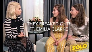 Emilia Clarke's Eyebrow Secrets