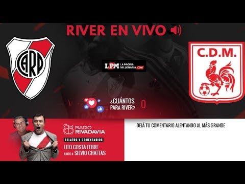 River vs. Deportivo Morón - Semifinal Copa Argentina - EN VIVO - Relatos Lito Costa Febre