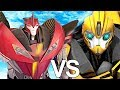 Download Bumblebee VS Knockout Round #2 Epic Battle | Transformers Prime