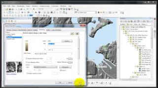 GIS 311 Hillshade Symbology Basics | a GIS ArcMap 10.2.1 Video Tutorial by Gregory Lund