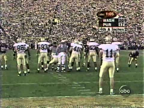 2001 Rose Bowl #4 Washington vs. #17 Purdue