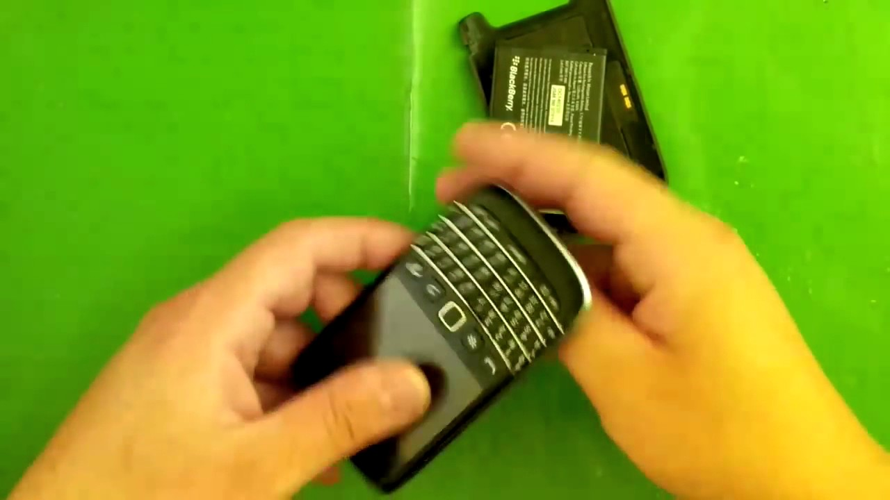 Blackberry 9790 Disassembly
