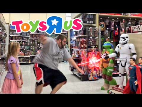 BEING BAD IN TOYSRUS! FAN MAIL RAGE! GRIM IS GETTING WAY TO FAT!