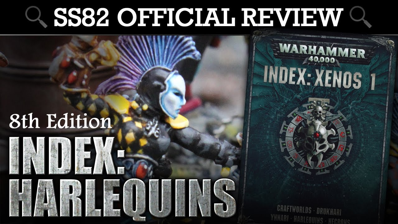 40k pdf codex warhammer harlequin