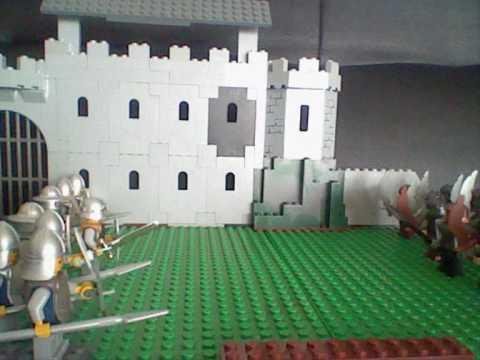 Lego Krieg Menschen Vs Goblins Youtube