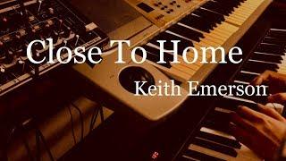 Close to home - Keith Emerson (1992年) Emerson, Lake & Palmerのアルバム「Black Moon」の中にあるピアノ曲を弾きました。※ 何ヵ所かミスあり。 個人的にはこの...
