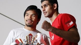 MANNY PACQUIAO VS. AMIR KHAN AGREED TO FOR APRIL SHOWDOWN ACCORDING TO BOTH FIGHTERS