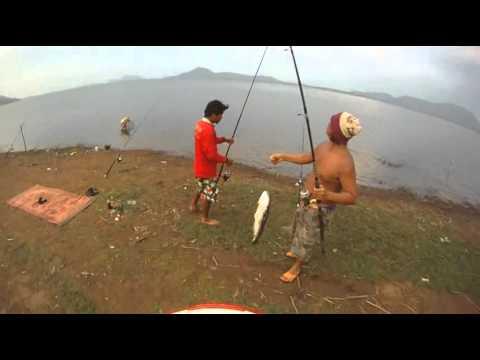 ขี่ATV ดูเค้าตกปลาชะโด
