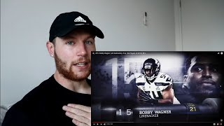 Rugby Player Reacts to BOBBY WAGNER (LB, Seahawks) #15 NFL's Top 100 Players of 2019!