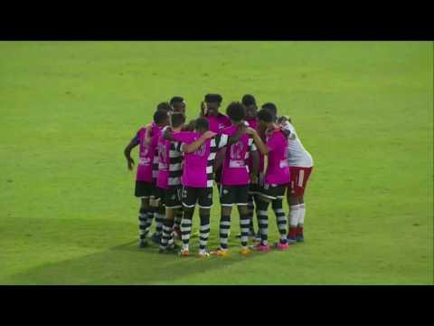 RESUMEN CIBAO FC-CENTRAL FC EN EL CAMPEONATO DE LA CFU