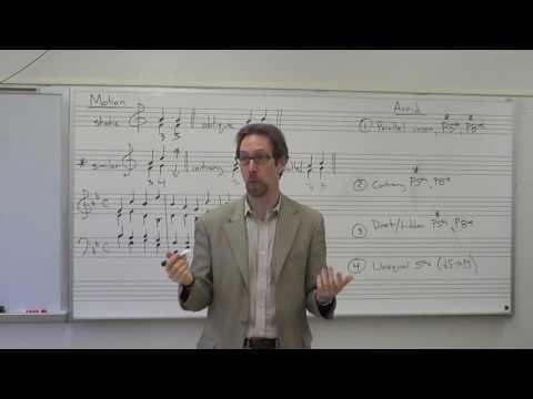 Dr. B Music Theory Lesson 12 (Voice Leading 102)