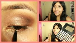 Maquillaje para ojos oscuros o negros thumbnail