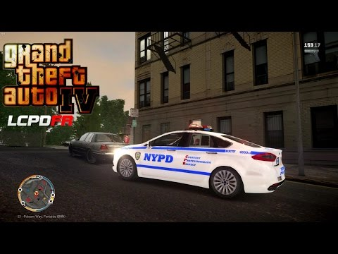 GRAND THEFT AUTO IV - LCPDFR - EPiSODE 43 - (NYPD FORD FUSION PATROL) UNTIL SAPDFR/ LSPDFR