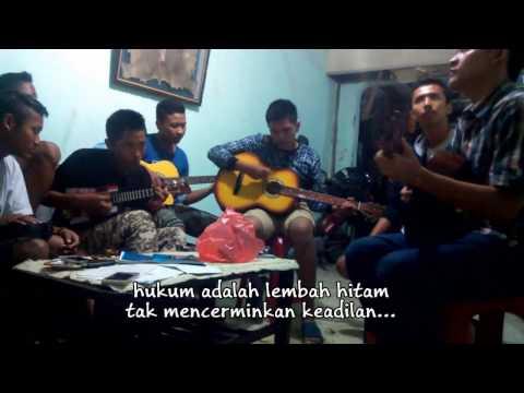 MARJINAL - Hukum Rimba Acoustic Cover Full Lirik