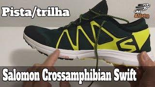 TÊNIS PARA TRILHA, PISTA E ÁGUA | SALOMON CROSSAMPHIBIAN SWIFT | Um Atleta