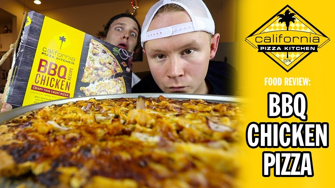 California Pizza Kitchen S Bbq Chicken Pizza Brew N Review Youtube