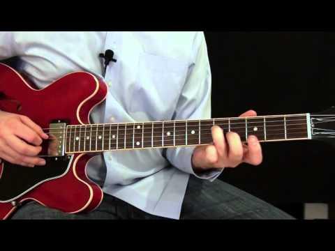 Blues Rhythm Guitar Lesson - Key of E