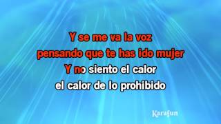 Karaoke Se me va la voz - Alejandro Fernández *