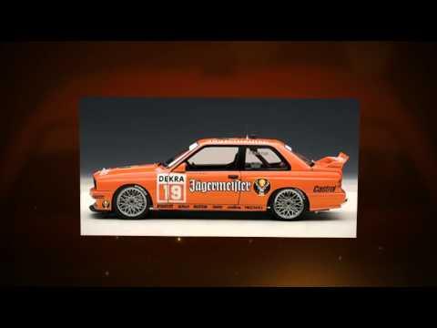 BMW M3 Jagermeister Armin Hahne (1992) Autoart 89248 - 1:18
