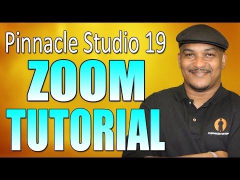 Pinnacle Studio 19 Ultimate - Zoom Tutorial