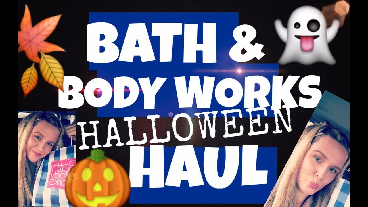 bath and body works haul halloween 2016