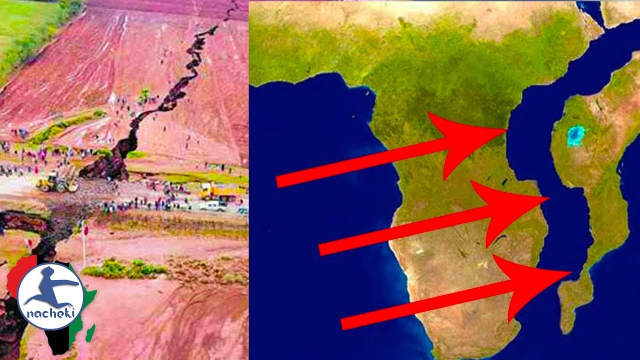 Scientists Confirm Africa is Physically Splitting into 2 Continents