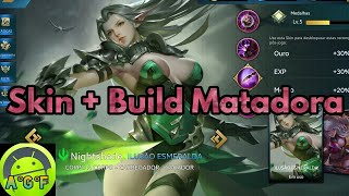 Nightshade - Skin + Build Matadora + Como Jogar - Heroes Evolved