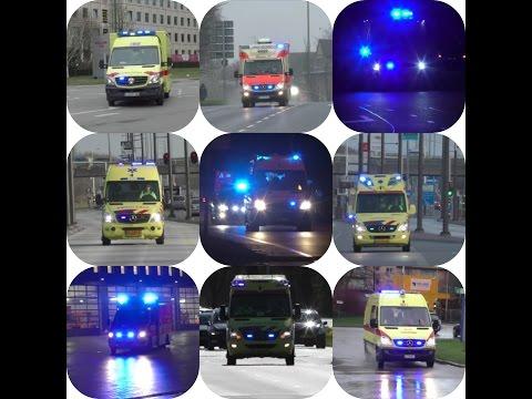 Ambulance Compilatie Maand Maart Nederland Belgie Duitsland