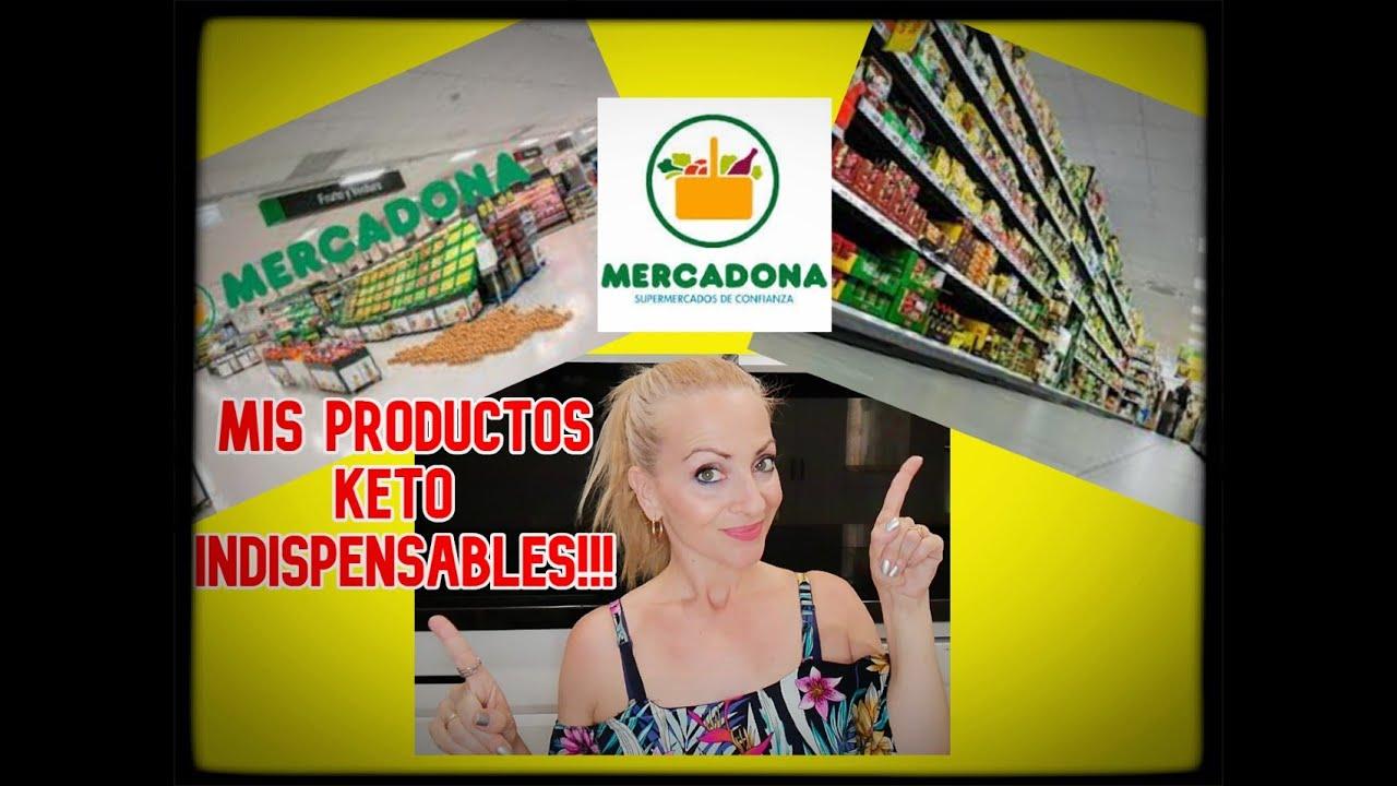 MERCADONA / MIS ALIMENTOS KETO FAVORITOS!!!