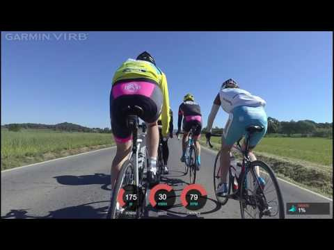 Fast group riding in windy conditions