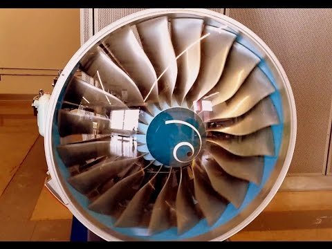 Rolls Royce Trent 1000 : Launch Engine for Boeing 787 Dreamliner working scale model